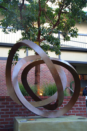 """Brutus"" in Berkeley - sculpture by Roger Berry -  	  Photo credit - Stuart Fishman"