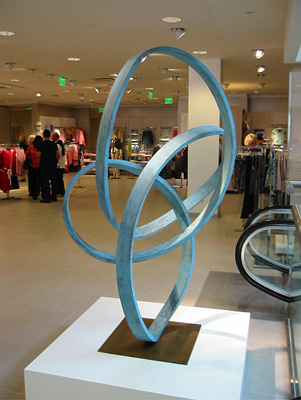 """Sonata"" in San Francisco - sculpture by Roger Berry - 	   Photo credit - Carol Peckham"