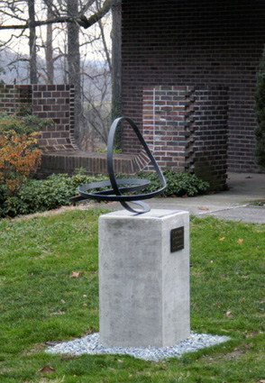 """Dither"" in Westtown, PA - Sculpture by Roger Berry - PHOTO CREDIT: Betsy Christopher"